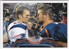 TOM BRADY TIM TEBOW 2013 TOPPS SP *VARIATION* PATRIOTS #SP-TT