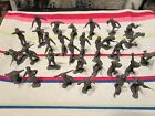 30 pc Lot of Vintage Marx Plastic WWII German Army Men Excellent Condition
