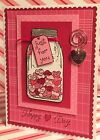 Valentine Card Kit JUST FOR YOU using Stampin Up  More 4 cards total
