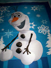 4 Panels OLAF snowman from Frozen by Disney and Springs fabrics blue white