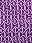 Daviva For African Style for Fashion Clothing White Diamonds Purple dv01220