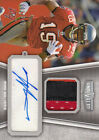 2010 Topps Unrivaled Autographed Patch #UAPMW Mike Williams Jersey Card 249 RC