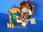 Collector's Choice~PORCELAIN DOLL~Santa's Toy Shop~Picture Frame~COA~Cute!!