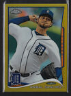 2014 TOPPS CHROME ANIBAL SANCHEZ GOLD REFRACTOR PARALLEL #207 TIGERS 06 50 RARE