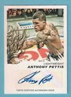# 1 8 ANTHONY PETTIS RUBY AUTO 2011 TOPPS UFC Moment of Truth Autograph MOT