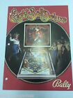 EIGHT BALL DELUXE BALLY NOS ORIGINAL ARCADE GAME FLYER CLASSIC PINBALL