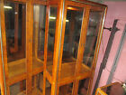 Vintage American of Martinsville Glass Cabinet China Hutch 1 Piece