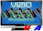 VIZIO VP322 LCD TV CAPACITORS REPAIR KIT PSPU-J707A EAY42539401 U-FIX IT