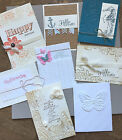 Stampin Up Sizzix Cuttlebug Couture Paper Studio Embossing Folders