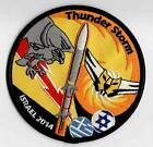 GREEK-ISRAEL AIRFORCE F-16 ''THUNDERSTORM'' EXERCISE 2014 PATCH