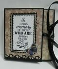 Handmade In Loving Memory Scrapbook Mini Photo Album FREE Shipping