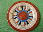 Antique Plate Lovely Hand Painted Gold Leaf JAPAN, Beautiful Vibrant Colors