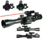 Tactical Red  Green Mil dot illuminated 3 9X40E optics hunting rifle gun scope
