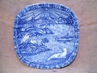 Julen Rorstrand Sweden Christmas Plate 1978 Limited Edition Retired Blue