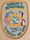 ST LUCIE COUNTY SHERIFF'S DEPT Florida FL Co SD Used Worn patch #3