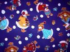 CHRISTMAS Geese in a fleece A Henry Fabric Fat Quarter