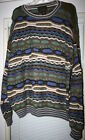 TOSANI COOGI STYLE BILL COSBY MULTI COLOR SWEATER SIZE L