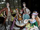 Antique French Porcelain Figurine Exquisite Grouping Handpainted *MINT* Dubois ?