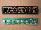 RCA LED50B45RQ Keyboard Control with Cover RE0332R010 QLE322RWE01
