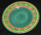 Collectible Decorative Tabletop Gallery Roxy Hand Painted Ceramic Dinner Plate