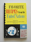 1956 Favorite Recipes from the United Nations Cookbook