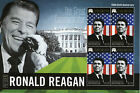 Micronesia 2012 MNH US President Ronald Reagan 100th Birth Anniversary 4v M/S