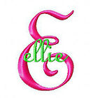 Machine Embroidery Designs Monogram Set 162 3 sizes 1 2 3 Alphabet Font CD