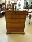 Vtg Mid Century 1956 L & JG Stickley Solid Cherry Chest Leopold Stickley Origina