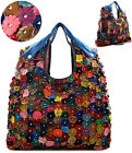 XL Genuine LEATHER Brown Patchwork Flower HOBO BAG PURSE Handbag Shoulder Strap