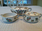 RARE Antique 1920's HOTTA YU SHOTEN Japanese Tea Set, Pot Creamer