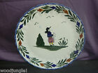 BLUE RIDGE SOUTHERN POTTERIES FRENCH PEASANT PLATTER LARGE CHOP PLATE Vintage
