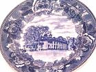Antique original 1899 Wedgwood Mount Vernon Plate, cracked, Made in England