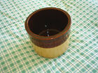 Vintage Brown and Tan  Bean/Butter Stoneware Crock/Pot