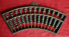 Chinese flabellate Circular abacus SuanPans. 13 Column 91 Count beads 1936 #372