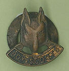 1960's UNITED KINGDOM / UK SCOUTS - WOLF CUB SCOUT BRONZE COLOR Metal Lapel Pin