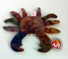Claude The Crab Ty Beanie Baby Retired Tie Dyed Blue Orange Brown Sept 3,1996