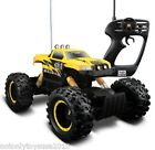 Remote Control RC Maisto Tri-Band Off-Road Rock Crawler Monster Truck-Yellow