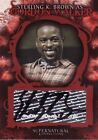 Supernatural Connections Sterling Brown Gordon Walker A10 Auto Card