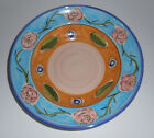 Vintage Hand Painted LAMAS Pottery  SERVING BOWL Plate Italy 12