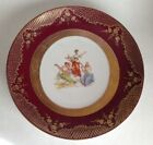 Beautifful Antique Victoria Austria Porcelain Plate 9 3/4
