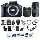 Canon EOS Rebel T5i Camera + 18-55mm IS STM Lens + 75-300mm + 32GB LOADED Bundle