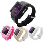 2 Unlocked Android 41 Touch Smart Wrist Watch Cell Phone Bluetooth WiFi Camera