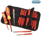 DRAPER 05776 18 Piece VDE Interchangeable Screwdriver Set