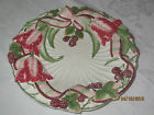 Fitz and Floyd BLACKBERRY RABBIT CANAPE DECORATOR PLATE 9 3/4