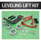 Silver Front 4 Rear 3 Lift Kit Full Accessories For SUV 07 15 6 Lug 4WD