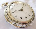 Very rare verge fusee  Ottoman Pocket watch Triple case John Moore London 1818