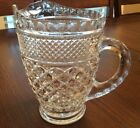 Vintage ANCHOR HOCKING Glass Crystal Wexford Juice PITCHER, Excellent Condition!