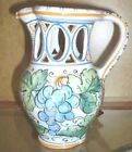 BLUE CERAMIC COLLECTOR'S  PUZZLE DRINKING JUG