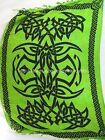 altar cloth green sarong with celtic circle and celtic border cheap accessories