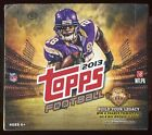 (2) 2013 TOPPS FOOTBALL SEALED HOBBY JUMBO BOX LOT sp auto patch rc eddie lacy